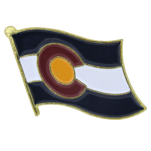 Colorado Flag Lapel Pin