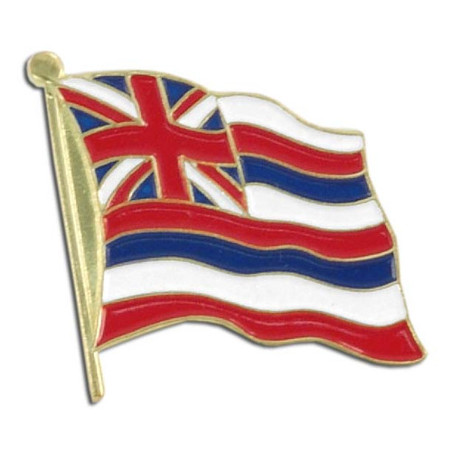 Hawaii Flag Lapel Pin