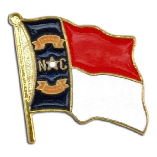 North Carolina Flag Lapel Pin