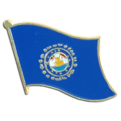 New Hampshire Flag Lapel Pin