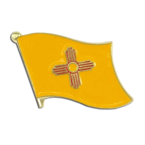 New Mexico Flag Lapel Pin