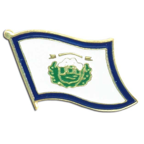 West Virginia Flag Lapel Pin