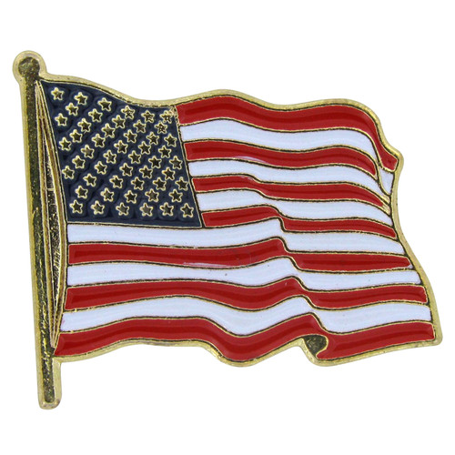 USA Flag Lapel Pin Standard