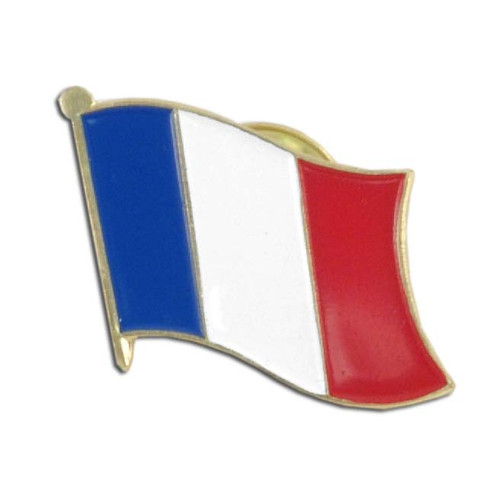France Flag Lapel Pin