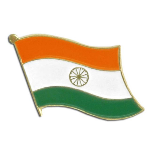 India Flag Lapel Pin