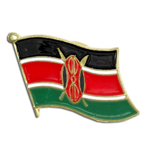 Kenya Flag Lapel Pin
