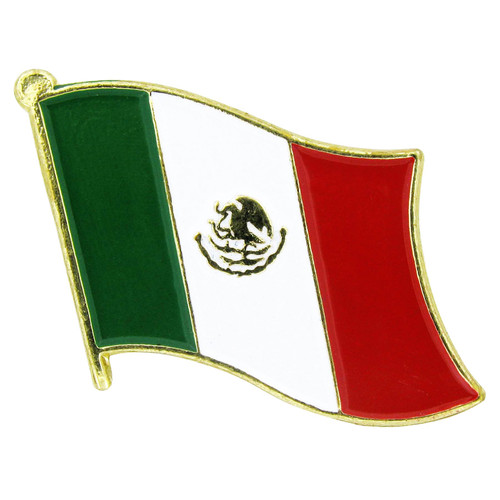 Mexico Flag Lapel Pin