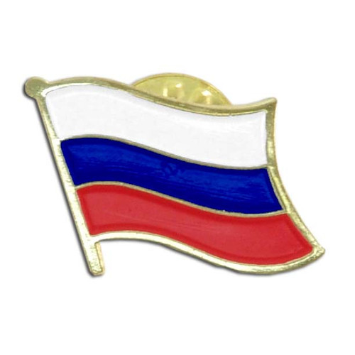 Russian Federation flag Lapel Pin