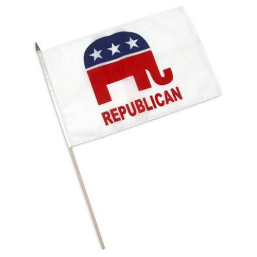 Republican Party Flag Design 1 - 12 x 18 inch