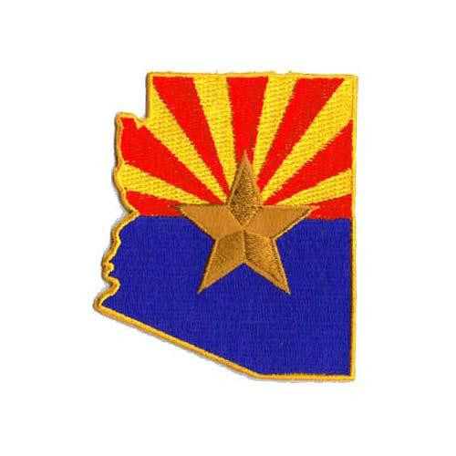 Arizona State Embroidered Patch
