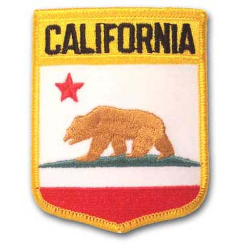 California Embroidered Patch