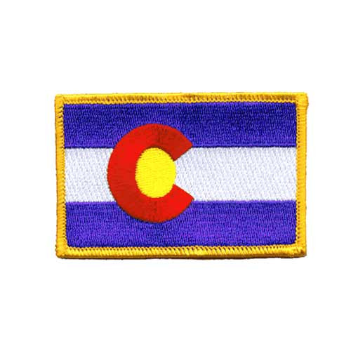 Colorado Embroidered Patch