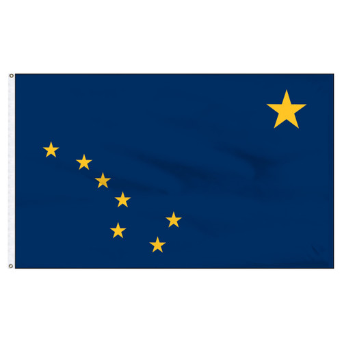 Alaska Flag 5 x 8 Feet Nylon