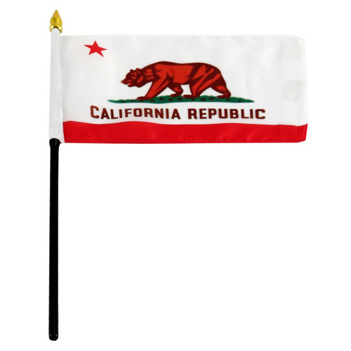 California Flag 4 x 6 inch