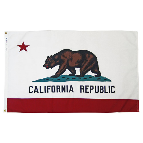 California 4ft x 6ft SpectraPro Flag
