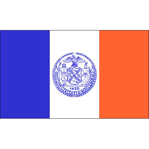 New York City Flag 3ft x 5ft Nylon