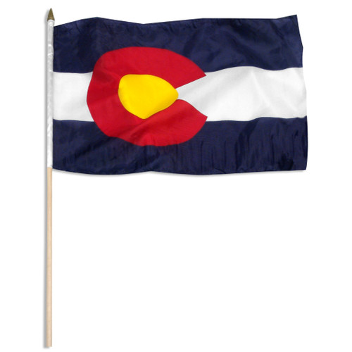 Colorado flag 12 x 18 inch