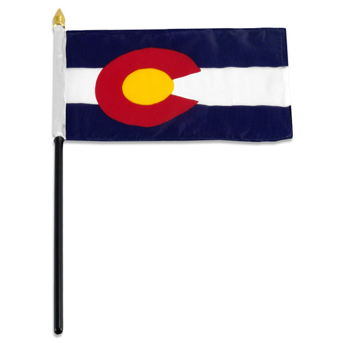 Colorado flag 4 x 6 inch