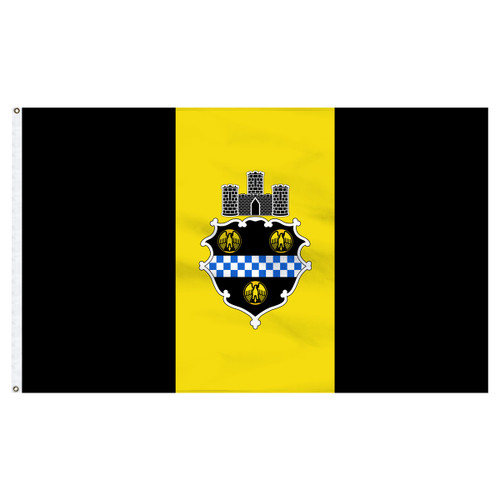 Pittsburgh City Flag 3ft x 5ft Nylon
