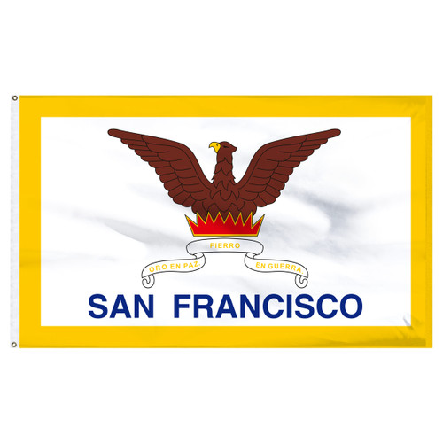 San Francisco City Flag 3ft x 5ft Nylon