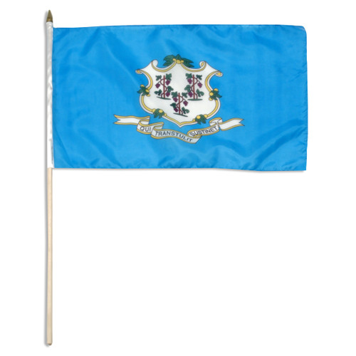 Connecticut flag 12 x 18 inch