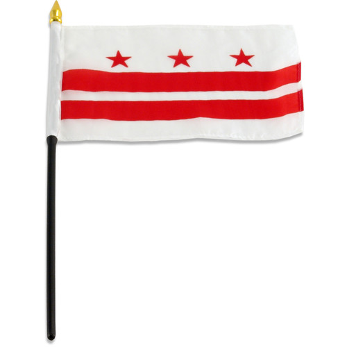 District of Columbia (Washington DC)  flag 4 x 6 inch