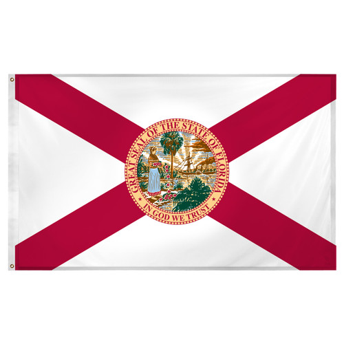 Florida flag 3 x 5 feet Super Knit polyester