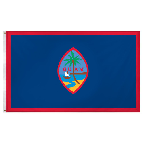 Guam Flag 3x5ft Super Knit Polyester