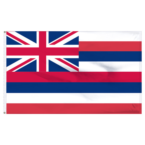 Hawaii 8ft x 12ft Nylon Flag