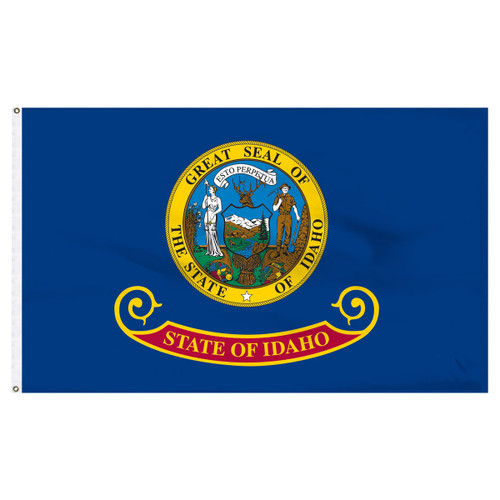Idaho Flag 5 x 8 Feet Nylon