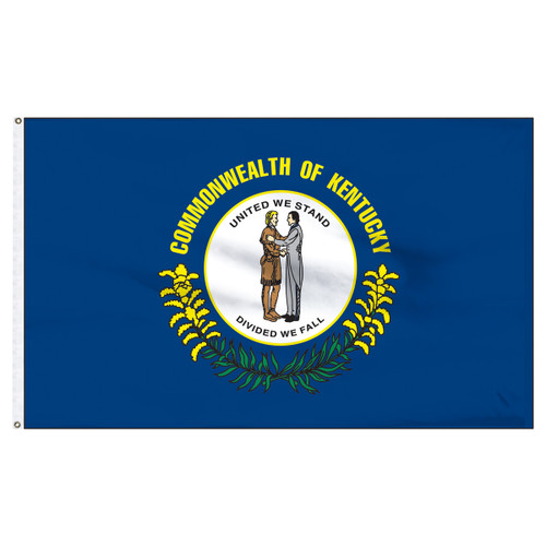 Kentucky 12ft x 18ft Nylon Flag