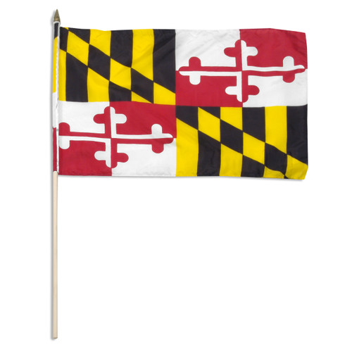 Maryland flag 12 x 18 inch