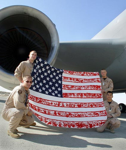 OPERATION ENDURING FREEDOM WITH FLAG
