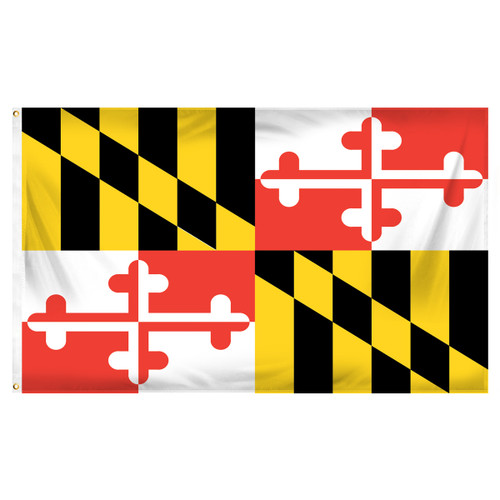 Maryland 3ft x 5ft Printed Polyester Flag