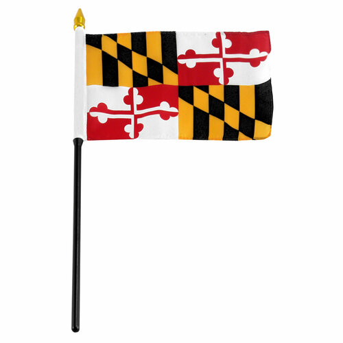 Maryland Flag 4 x 6 inch