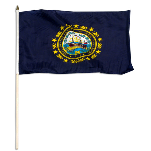New Hampshire flag 12 x 18 inch