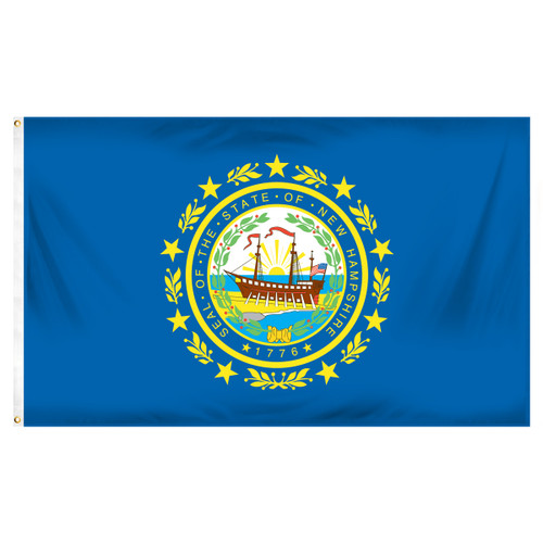 New Hampshire 3ft x 5ft Printed Polyester Flag