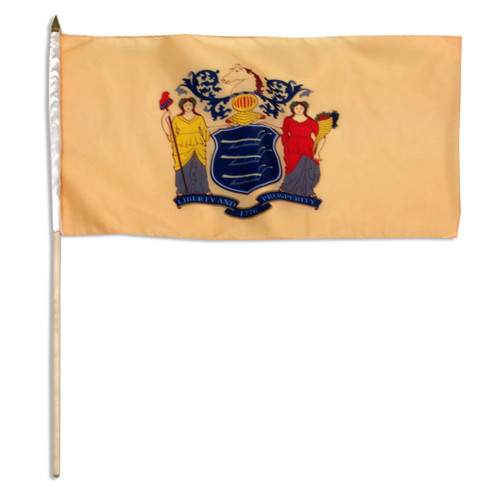 New Jersey flag 12 x 18 inch