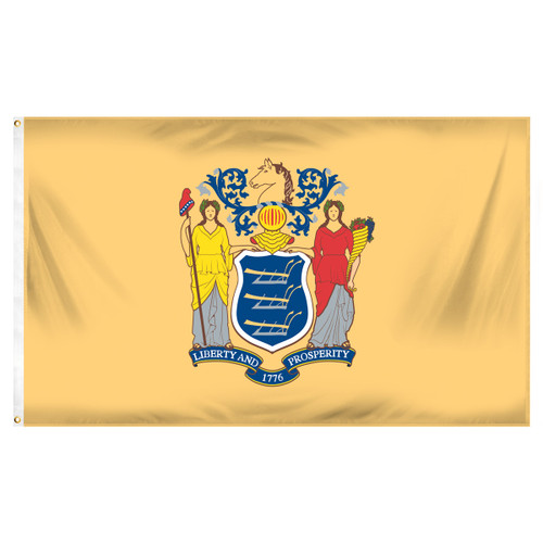 New Jersey 3ft x 5ft Printed Polyester Flag