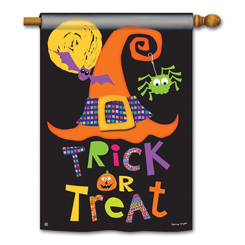 Halloween Banner Flag - Witches Halloween