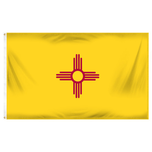 New Mexico 3ft x 5ft Printed Polyester Flag