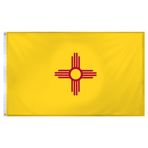 New Mexico flag 3 x 5 feet Super Knit polyester