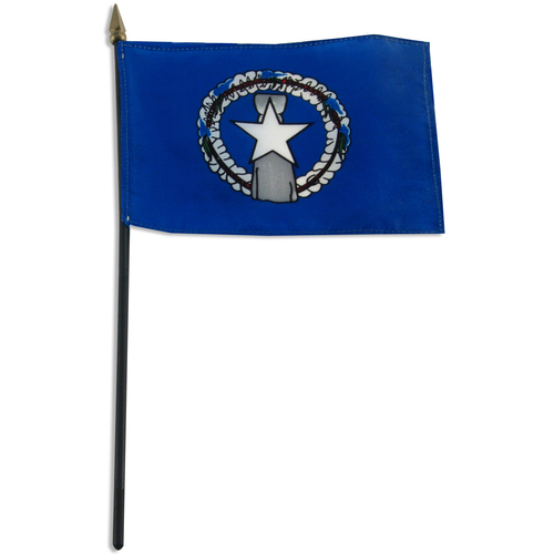 Northern Marianas flag 4 x 6 inch