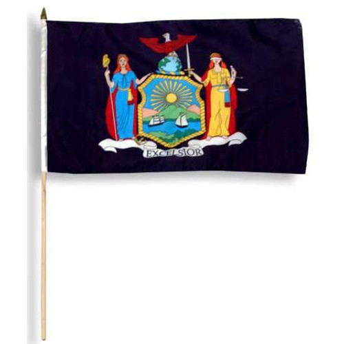 New York flag 12 x 18 inch