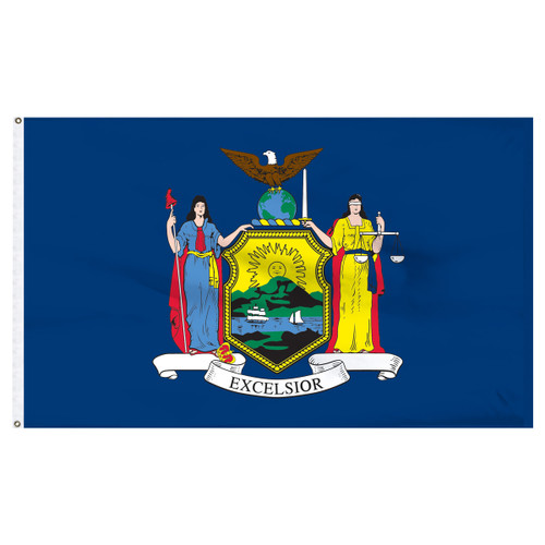 New York 8ft x 12ft Nylon Flag