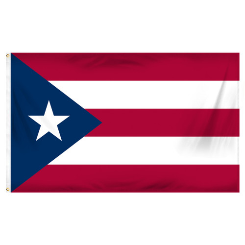 Puerto Rico 3ft x 5ft Printed Polyester Flag