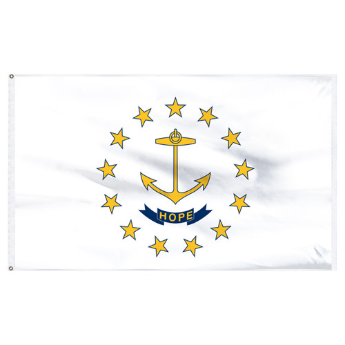 Rhode Island Flag 5 x 8 Feet Nylon