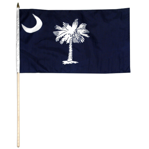 South Carolina flag 12 x 18 inch