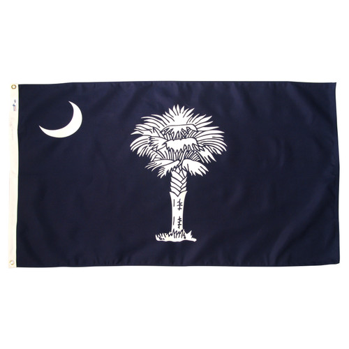 South Carolina 3ft. x 5ft. Sewn Polyester Flag