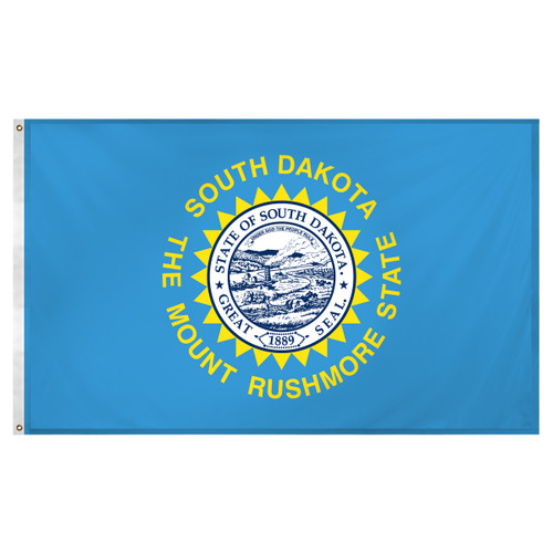 South Dakota 3ft x 5ft Super Knit Polyester Flag